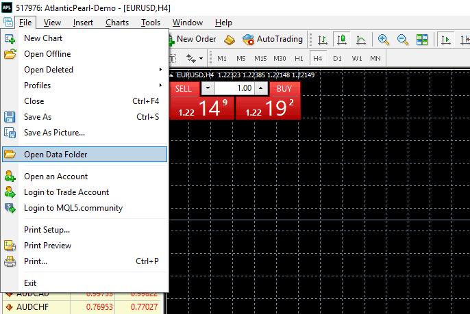 File - Open Data File