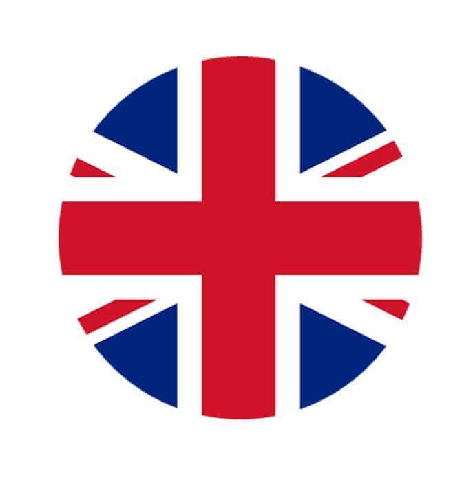 UK Flag - GBP